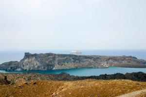 Palea Kameni and Aspronisi, Santorini