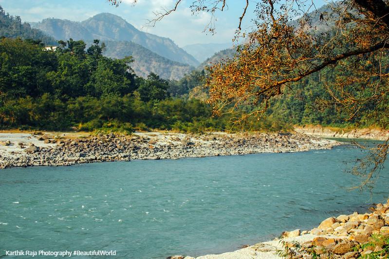 Shivpuri, Ganges, Rishikesh, India