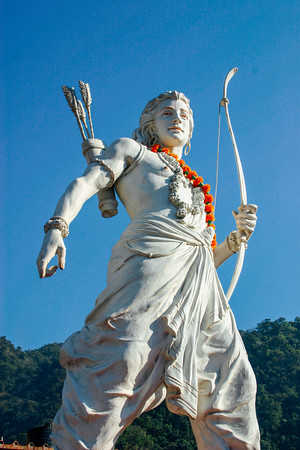 Lakshman - the perfect brother, Rishikesh, Uttaranchal, India