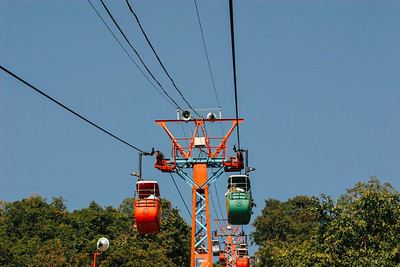 Cable car to the top, Mansa Devi temple, Haridwar, India