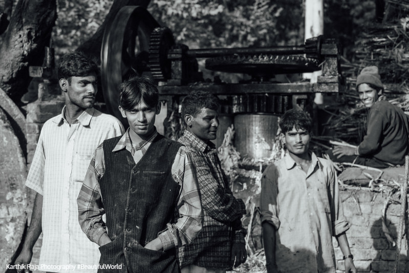 Gud production, Sugarcane, Jaggery, Uttaranchal, India