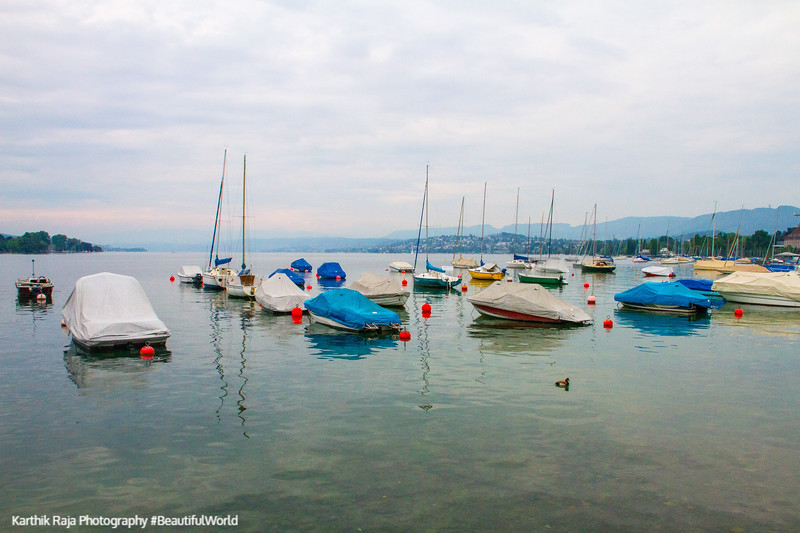 Boats, Zurichsee, Lake, Zurich, Switzerland