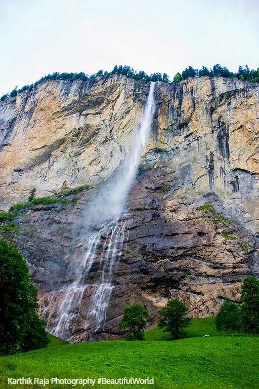 Staubbach falls, Lauterbrunnen, Switzerland