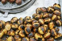 Water chestnuts, Istanbul, Turkey