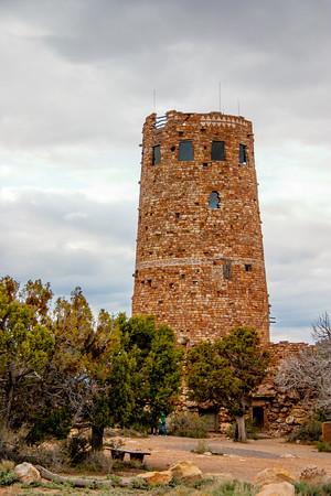 The tower at Desert view, Grand Canyon National Park, Arizona