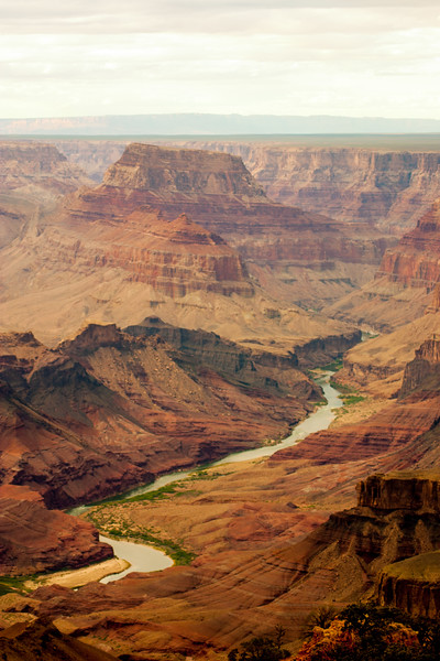 Colorado river, Desert View, Grand Canyon National Park, Arizona