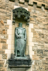 Sir William Wallace - Braveheart, Edinburgh Castle, Scotland