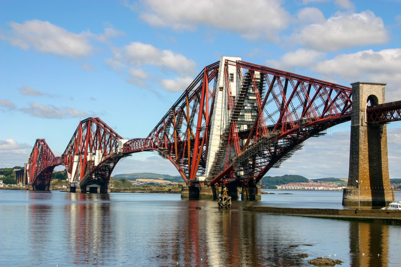 Historic Forth Bridge, Scotland