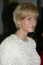 Madamme Tussaud's - Princess Diana, London, England