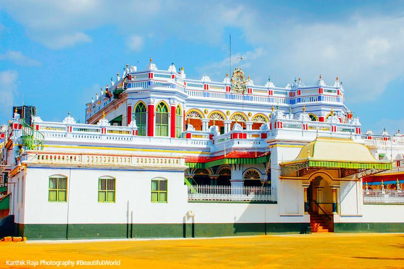 Maharaja Palace, Chettinad Palace, Kanadukathan, Karaikudi, Indi