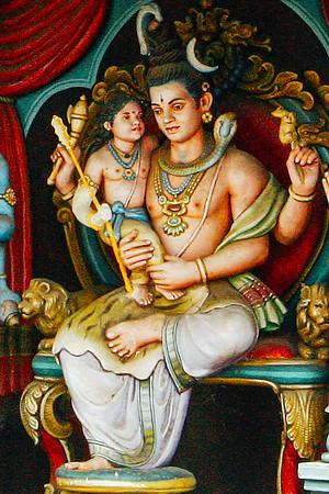Pranava mantra, Swamimalai temple, Kumbakonam, India