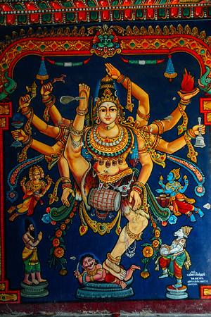 Natarajar doing the Thandava dance, Tiruchirapalli (Trichy)