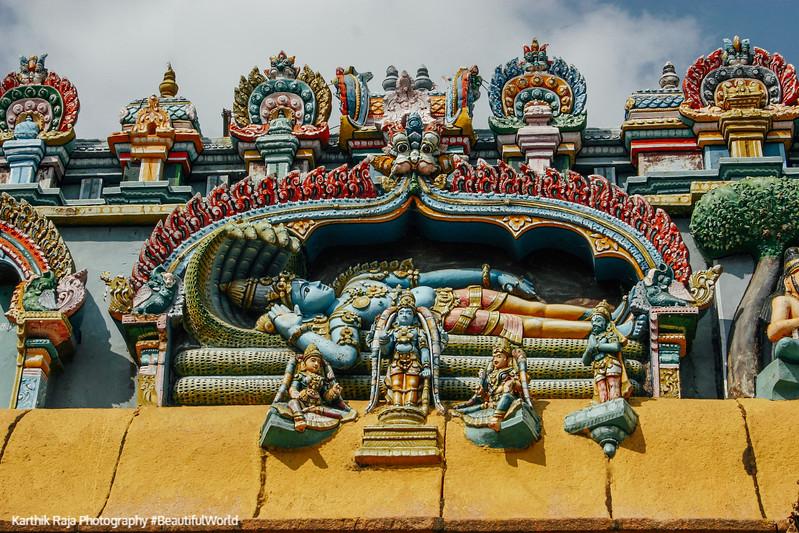 Lord Vishnu, Sri Ranganathaaswami Temple, Srirangam, Tiruchirapa