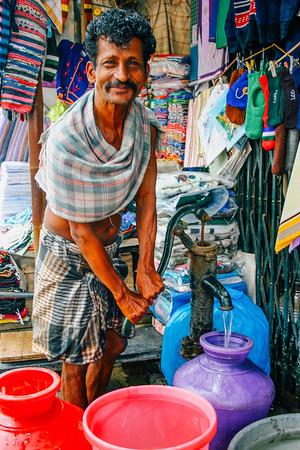 People of Madurai, Tamil Nadu, India