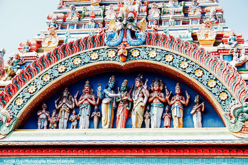 East Entrance - marriage of Meenakshi and Sundareshwarar, Meenak