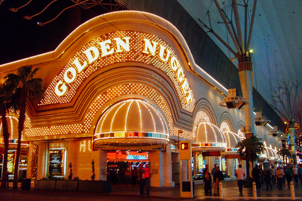 Golden Nugget at downtown Las Vegas, Las Vegas, NV