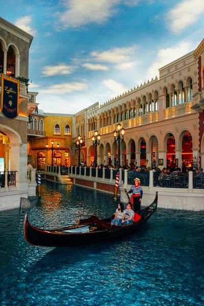 Gondola ride, Venetian, Las Vegas, NV