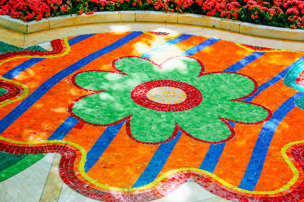 Floor deco at the Wynn, Las Vegas, NV