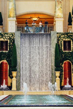 Waterfalls at the Palazzo, Las Vegas, NV