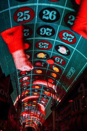 Freemont Street, downtown Las Vegas, Las Vegas, NV