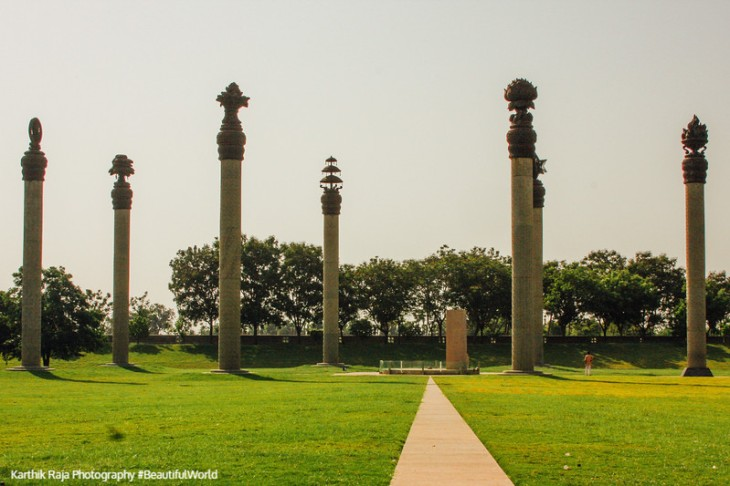 Rajiv Gandhi memorial, Sri Perumbedur, Tamil Nadu, India