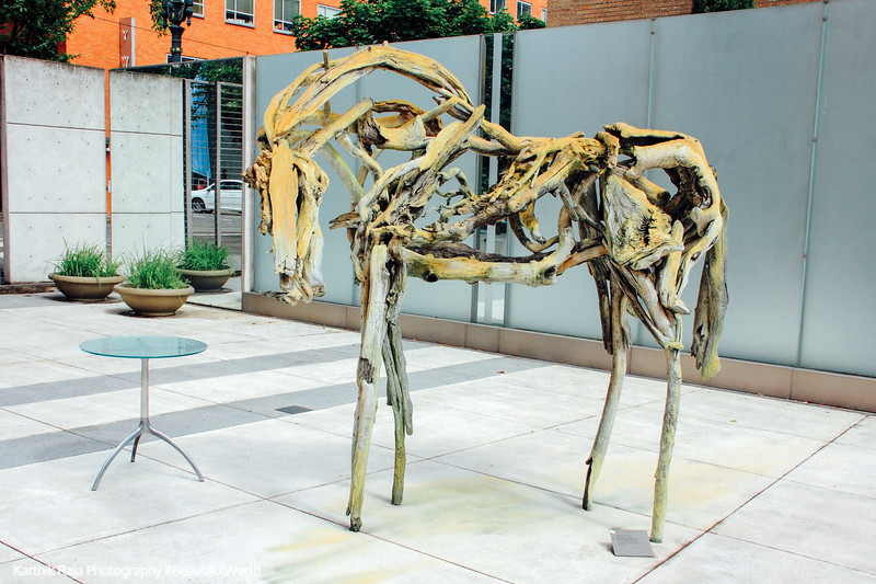 Deborah Butterfield, Dance Horse, 1988, Portland Art Museum, Por