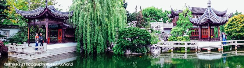 Panorama, Lan Su Chinese Garden, Portland, Oregon
