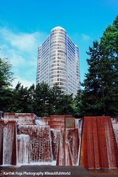 Portland Plaza, Ira Keller Fountain, Portland, Oregon