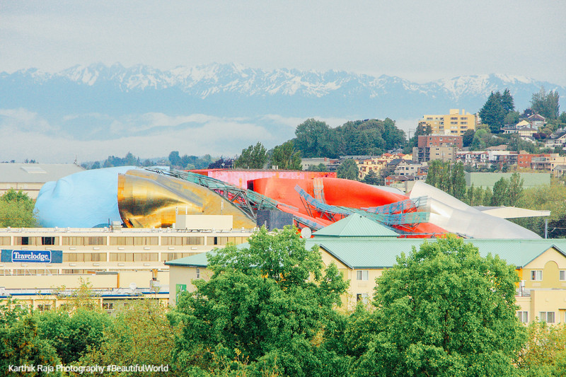 Experience Music Project museum - Frank Gehry creation, Seattle,