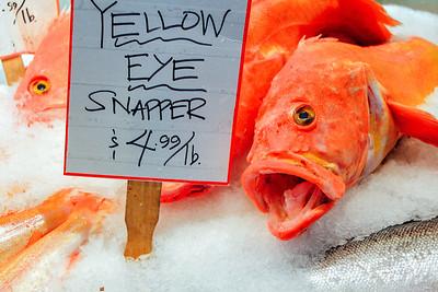 Pike Place Market - fish market, Seattle, Washington