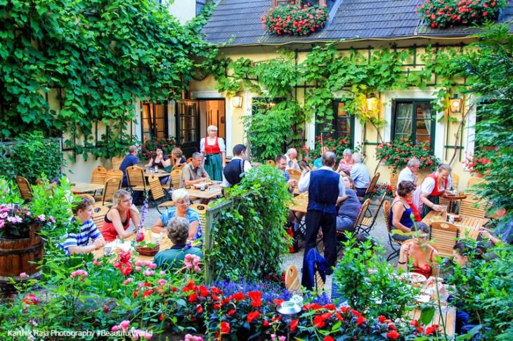 Viennese Passauerhof, Grinzing, Austria