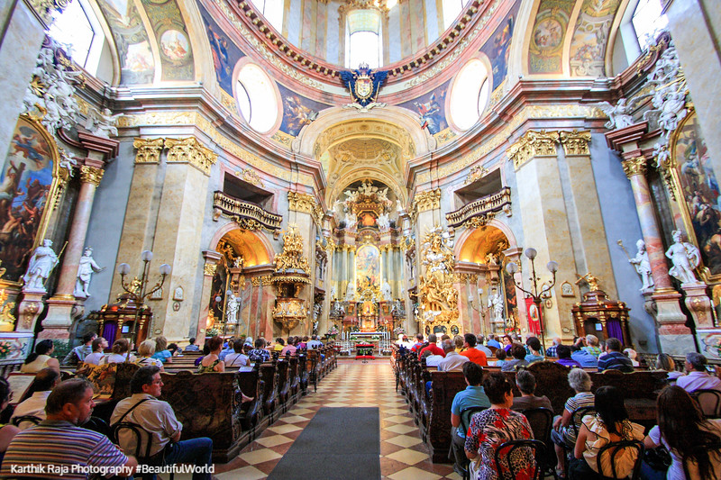 St. Peter's Church. Vienna, Austria
