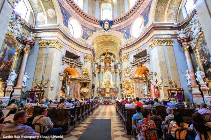 St. Peter's Church. Vienna, Austria