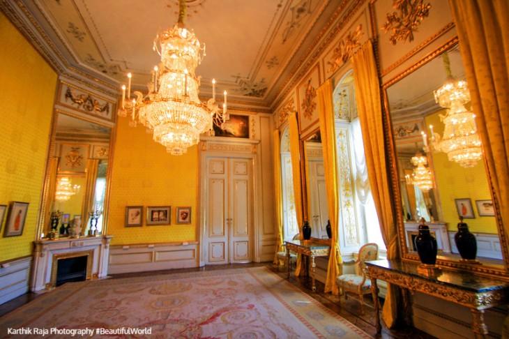 The Staterooms, the Rococo Room, Albertina, Vienna, Austria