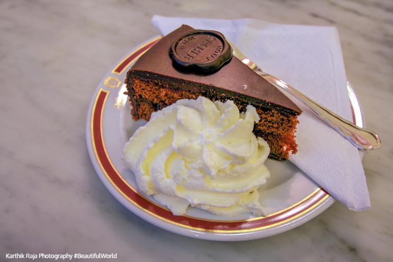 Sacher torte, Vienna, Austria