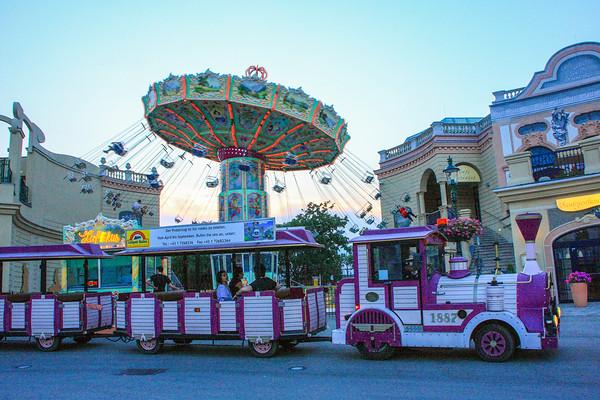 Wurstelprater, Prater amusement Park, Vienna, Austria