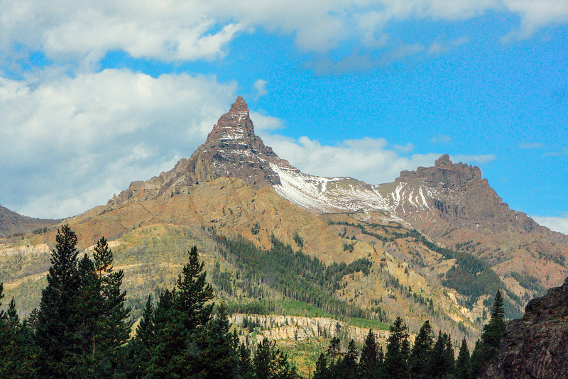 Pilot and Index peaks, Beartooth Scenic Byway, All-American Road