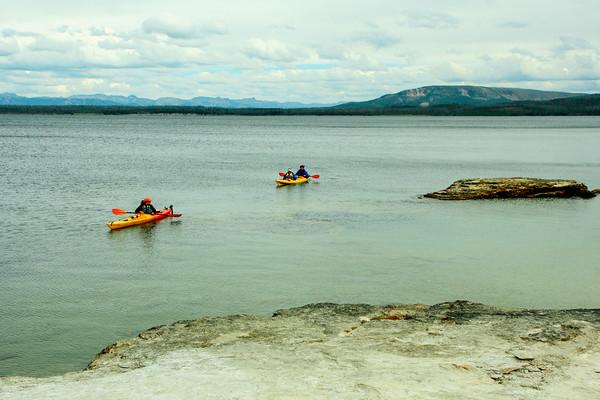 West Thumb Lake - Yellowstone National Park