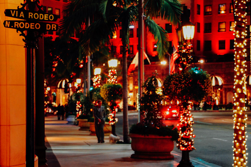 Rodeo drive, Beverly Hills, Los Angeles