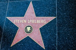 Steven Spielberg, Hollywood Blvd., Los Angeles