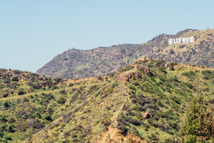 Hollywood Sign, Griffith Observatory, Los Angeles, California