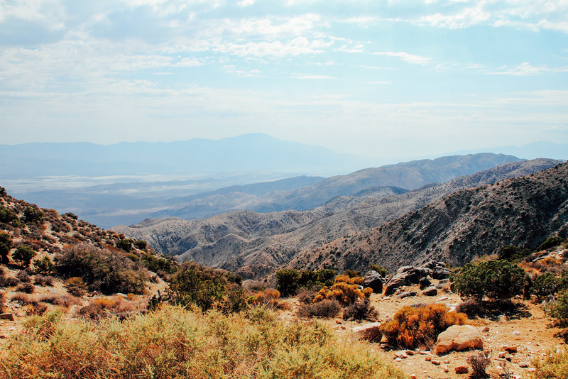 Coachella Valley, Keys View, Joshua Tree National Park, Californ