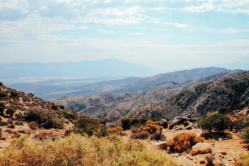 Coachella Valley, Keys View, Joshua Tree National Park, Californ
