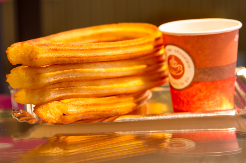 Churros, Madrid, Spain