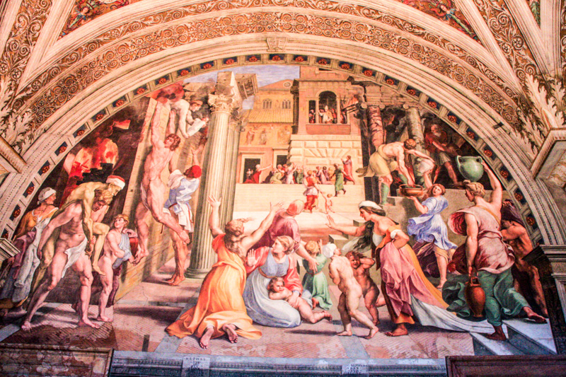 Raphael - The Fire in the Borgo, Vatican City