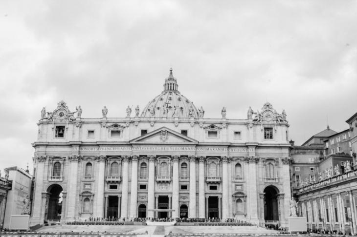 Piazza San Pietro (St. Peter's Square and Basilica), Vatican Cit