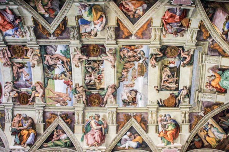 Michelangelo's greatest paintings - Sistine Chapel, Vatican City