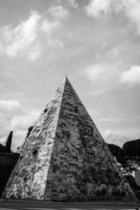 Pyramid of Cestius, Rome, Italy