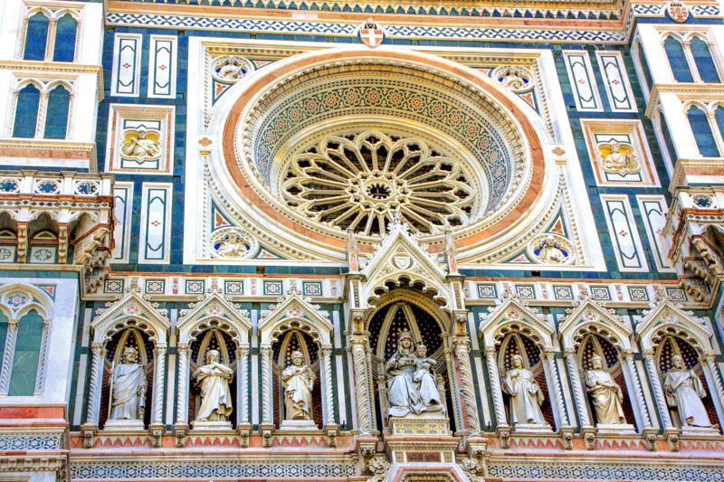 The facade of the Duomo - Emilio De Fabris - Florence, Italy
