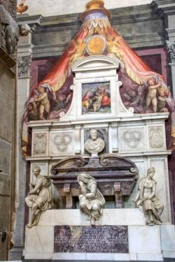 Michelangelo Buonarroti, sepolcri by Giorgio Vasari - 1570, Sant